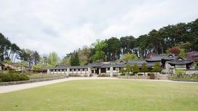 GANGNEUNG, KOREA - April 19, 2014: Seongyojang, country house bu Stock Photos
