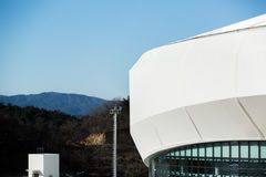 GANGNEUNG, SOUTH KOREA - JANUARY, 2017: Gangneung Ice Arena. For the Olympic Games 2018 in Pyeongchang Stock Image