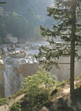Gangotri de cascade à écriture ligne par ligne de kund de Suraj Photographie stock