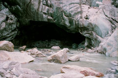 Gangotri Glacier  Royalty Free Stock Images