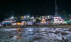 Free Gangotri In Nights - Ganga River Royalty Free Stock Photography - 129466537