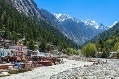 Gangotri - Indiańscy himalaje Obrazy Royalty Free