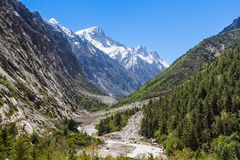 Gangotri-Tal stockfotografie