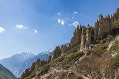 Gangotri-Tal Lizenzfreie Stockbilder