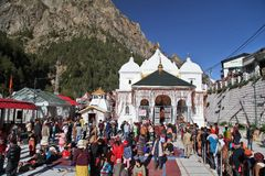 Free Gangotri Temple Dedicated To Goddess Ganga Stock Photos - 155628283