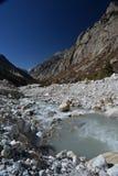 Gangotri, Uttarakhand, Ινδία ποταμός του Γάγκη στοκ φωτογραφίες με δικαίωμα ελεύθερης χρήσης