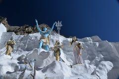 Gangotri Uttarakhand, Indien Indiska gudar Royaltyfri Bild