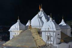 Gangotri, Uttarakhand, la India El templo principal Imagen de archivo libre de regalías