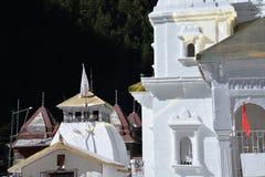Gangotri, Uttarakhand, la India El templo principal Imagenes de archivo