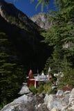 Gangotri, Uttarakhand, la India Templo hindú Foto de archivo libre de regalías