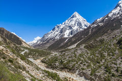 Gangotri Valley Royalty Free Stock Photo
