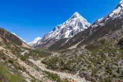 Gangotri Valley royalty free stock photo
