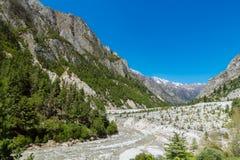 Gangotri Valley Royalty Free Stock Photography