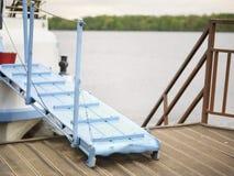 Gangplank And Marina Royalty Free Stock Images