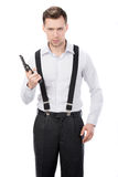 Gangster Royalty Free Stock Photography