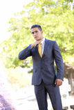 Gangster businessman Royalty Free Stock Photo