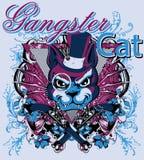 Gangster cat Stock Photos