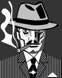 gangster chicago royalty ilustracja