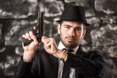 Gangster. Stock Images