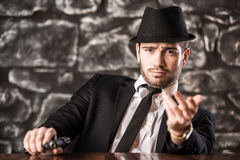 Gangster. Royalty Free Stock Photo