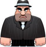 Gangster dos desenhos animados Fotos de Stock Royalty Free