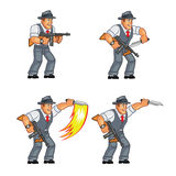 Gangster Game Sprite Royalty Free Stock Photo