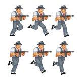 Gangster Game Sprite Stock Photos