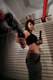 Gangster Girl - 10 Stock Image