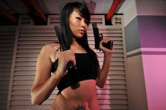 Gangster Girl - 7 royalty free stock photography