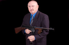 Gangster or Government agent, Stock Photography