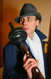 Gangster italiano, mafia ebrea di Chicago degli anni 20, anni degli anni 30 Fotografie Stock