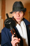 Gangster italiano, mafia ebrea di Chicago degli anni 20, anni degli anni 30 Fotografia Stock Libera da Diritti