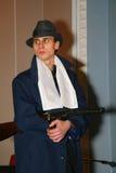 Gangster italiano, mafia ebrea di Chicago degli anni 20, anni degli anni 30 Immagini Stock