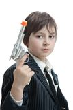 Gangster kid Stock Photography