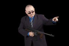 Gangster lub Agent rządowy, Fotografia Stock