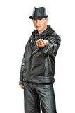 Gangster Man Stock Photography