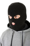 Gangster in mask Stock Image
