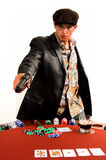 Gangster Poker Stock Photos