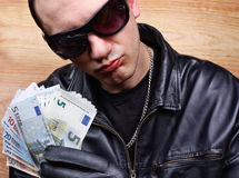 Gangster principale della mafia Fotografia Stock Libera da Diritti