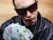 Gangster principale della mafia Immagini Stock
