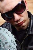 Gangster principale della mafia del capo Immagini Stock