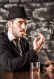 Gangster. Royalty Free Stock Images