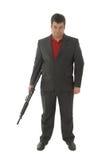 Gangster Whit a.m. 4-rifle Lizenzfreie Stockbilder