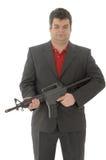 Gangster Whit a.m. 4-rifle Lizenzfreies Stockfoto