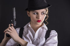 Gangster Woman Stock Photos