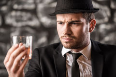 Gangster. Stock Photography