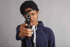 gangsterflicka Royaltyfri Foto