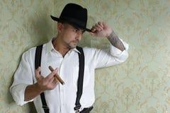 Gangster Royaltyfri Fotografi