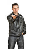 Gangstermann Lizenzfreies Stockfoto