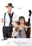 Gangsters Royalty Free Stock Photos
